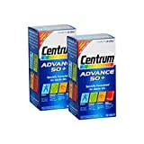 2 Packs Of Centrum Advance 50 Plus - 100 tablets = TOTAL 200 δισκία
