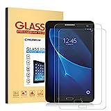 NearPow [2 Stück]Kompatibel mit Panzerglas Bildschirmschutzfolie Samsung Galaxy Tab A 7.0, Schutzfolie 9H Härte, Anti-Kratzen, Anti-Öl, Anti-Bläschen, Anti-Fingerabdruck