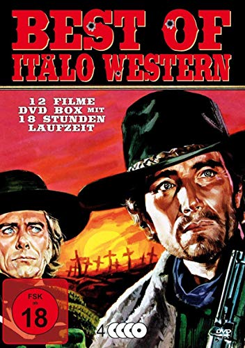 Best Of Italo Western (12 Filme - Django etc) 4DVD Box