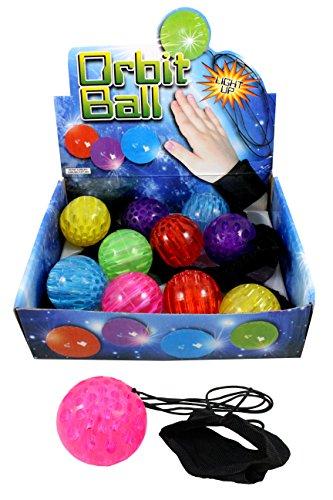Unbekannt 6er Set Springball Neon Armband & Schnur blinkt und leuchtet (9800100)