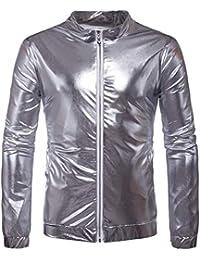 new concept 42296 aa8d2 Amazon.it: uomo - Argento / Giacche e cappotti / Uomo ...