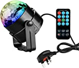 Coidea Led Disco Lights Strobe Light Christmas Dj Lights Glitter Ball Party Light Disco Ball RGB Disco Light Sound Activated Stage Light Party Lights Show for Xmas Decoration parties DJ Karaoke Wedding Outdoor and more(with Remote)