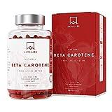 Betacarotene [25000 iu] 180 capsule contenenti la Lyc-O-Beta e Olio Extra Vergine di Oliva – sostegno naturale per l'abbronzatura, la salute degli occhi, della pelle, e del sistema immunitario
