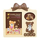 Best Gifts & Decor Friend Frame Two Pictures - Tuelip Cute Teddy Bear Photo Frame with 2 Review