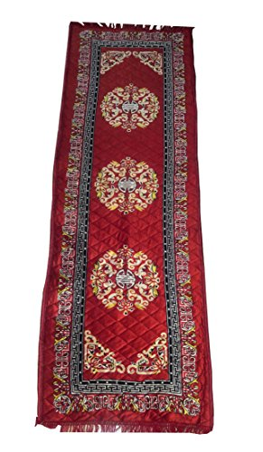 Alfombra de oración con Carry Bag- turco/de oración islámica musulmán Namaz Rugs Janamaz alfombra de oración alfombra de Yoga. Yoga y Meditación Perfecta Ramadan Eid regalos