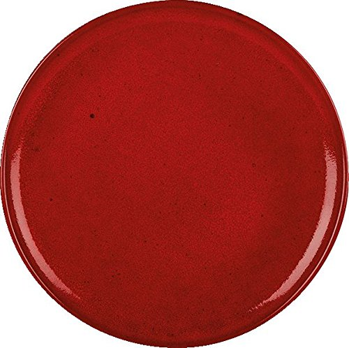 Rustico C44202 Lava Pizza Plate, 31 cm (Pack of 6)