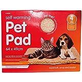 Invero Heizteppich für Haustiere, selbstwärmend, waschbar