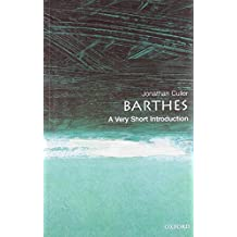 Barthes: A Very Short Introduction (Very Short Introductions)