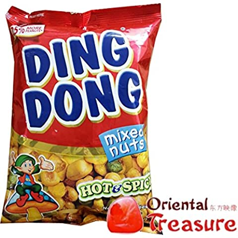 Ding Dong Mixed Nuts Hot & Spicy confezioni 100g x5