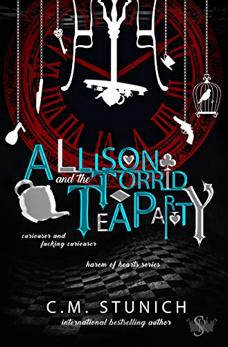 Allison and the Torrid Tea Party: A Dark Reverse Harem Romance (Harem of Hearts Book 2) (English Edition)