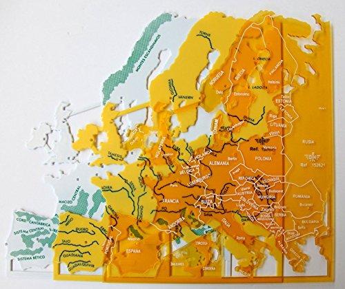 Plantillas Mapas Europa