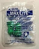 Howard Leight Max Lite, 1 Paar zum Testen, grün, SNR 34 dB, Gehörschutz, Ohrstöpsel Gehörschutz, Ohrstöpsel, Gehörschutz, Ohrstöpsel, wadle-shop ®