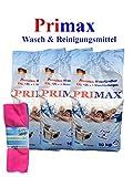 3 x 10 kg Waschpulver Primax Premium + 3 Microfasertücher gratis