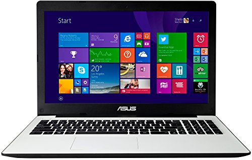 Asus F553MA-BING-SX417B 39,6 cm (15,6 Zoll) Notebook (Intel Celeron N2840, 2,2GHz, 4GB RAM, 500GB HDD, Intel HD Grafik, DVD, Win 8.1) weiß