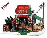 Lemax 83354 - Garland Grove Tree Lot - Baumverkauf - Neu 2018 - Vail Village - Dekoration/Weihnachtsdeko - Weihnachtswelt/Weihnachtsdorf