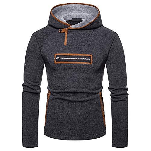 Baofull Herrenbekleidung Marken Strickjacken Pulli Need Coffee Sweatshirt XXL Herren Mens Zipper...
