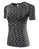 DD UP Damen Tank Top Kompression Sport Shirt - Ärmellos