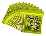 Ernie Ball Super Slinky Nickel Wickelset.009 - .042, 1 Stück 12 Sets Regular