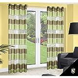 140x245 cm grün hellgrün dunkelgrün transparent Pflaume Vorhang Vorhänge Fensterdekoration Gardine Ösenschal green 102
