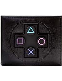 Cartera de Sony Playstation Controlador Negro