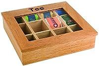 Assheuer & Pott ASS11775 Boîte à thé avec 12 compartiments 30 x 28 cm Hauteur 9 cm