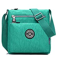 Outreo Waterproof Shoulder Bag Travel Women Cross Body Bag Fashion Lightweight Messenger Bag for Sport Girls Satchel