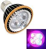 Niello® 5W E27 LED Pflanzenlampe Mini Cute Pflanze Wachsen Licht mit 5 Leds auf 60x75mm Grow Light für Zimmerpflanzen, Blumen und Gemüse Wachstumslampe Pflanzen Licht Glühbirne Energie Sparen