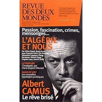 Revue des Deux Mondes Septembre 2019 - Algérie