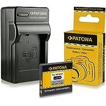 Cargador + Batería NP-BN1 para Sony CyberShot DSC-W310, DSC-W320, DSC-W330, DSC-W350, DSC-W360, DSC-W380, DSC-W390, DSC-W510, DSC-W520, DSC-W530, DSC-T99, DSC-T110, DSC-TF1, DSC-TX5, DSC-TX7, DSC-TX9, DSC-TX10, DSC-TX20, DSC-TX30, DSC-TX55, DSC-TX100V, DSC-WX5, DSC-WX7, DSC-WX9, DSC-WX50 y mucho más…