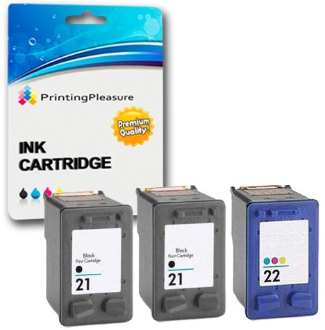 PRINTING PLEASURE 3 XL (1 SET + 1 BLACK) Remanufactured
