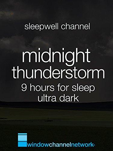 Midnight Thunderstorm 9 hours for sleep ultra dark [OV]