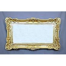 Specchio stile barocco cornice oro - Specchi per salotto ...