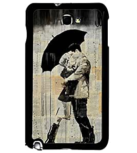 PRINTSWAG LOVE COUPLE Designer Back Cover Case for SAMSUNG GALAXY NOTE 1 N7000