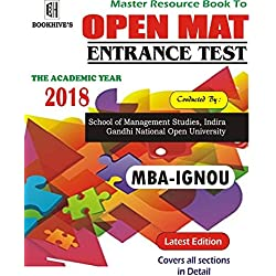 BOOKHIVE INDIA RESOURCE BOOK TO MBA IGNOU (OPENMAT)