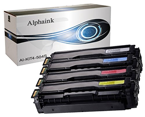 AI-KIT4-504S Kit 4 Toner per Samsung 504S CLP-415 CLP-415N CLP-415NW CLP-470 CLP-475 CLX-4195 CLX-4195FN CLX-4195FW CLX-4170 XPRESS C1810W