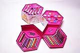 #5: Aaryan Enterprise Multi Layer Barbie Coloring Box