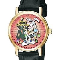 Bugs Bunny art di Natale Rosso Originale Looney Tunes da collezione Unisex Orologio da polso
