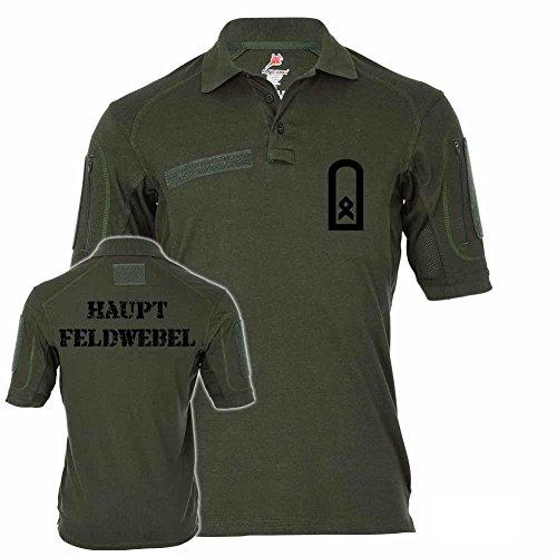 1a833839 actical Poloshirt Alfa - Hauptfeldwebel Dienstgrad BW Abzeichen Offizier  Unteroffizier Schulterklappe Bundeswehr #19100