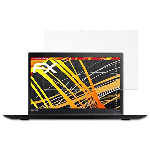 atFolix Schutzfolie kompatibel mit Lenovo ThinkPad X1 Yoga 2nd Gen. 2017 Bildschirmschutzfolie, HD-Entspiegelung FX Folie (2X)