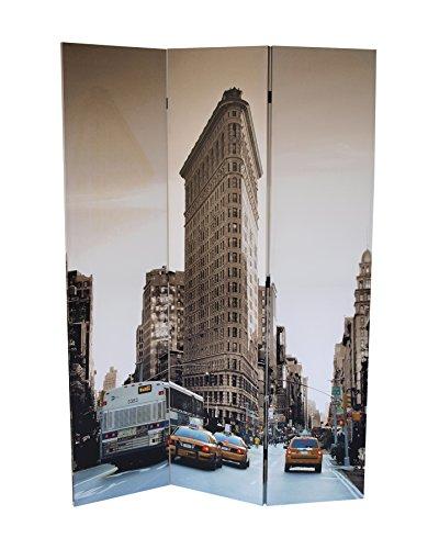 Paravent Motiv FLATIRON BUILDING in Mahnhattan - New York, 180x120cm