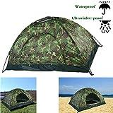 Tenda da spiaggia pop-up, con una porta richiudibile per 2-3 uomini, tenda da esterno con protezione UV mimetica - Tende da sole automatiche anti UV per giardino esterno con borsa per il trasporto