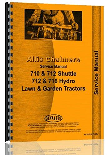 Allis Chalmers 716H Lawn & Garden Tractor Service Manual -