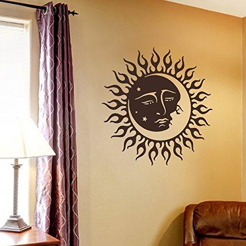 wand-aufkleber-decor-wandaufkleber-vinyl-aufkleber-sun-moon-crescent-dual-ethnic-symbol-night-sterne