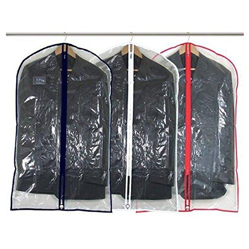 hangerworld-18-custodie-proteggi-abiti-in-plastica-trasparente-con-bordi-e-finiture-in-colori-assort