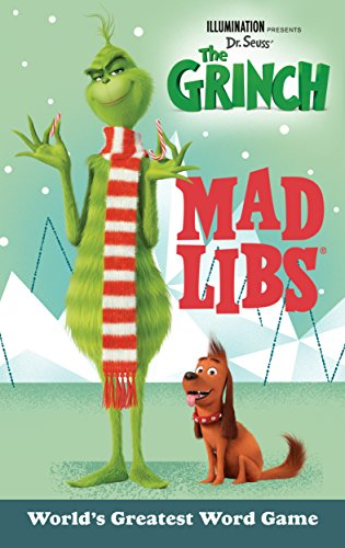 Illumination Presents Dr. Seuss' the Grinch Mad Libs por Sara Schonfeld