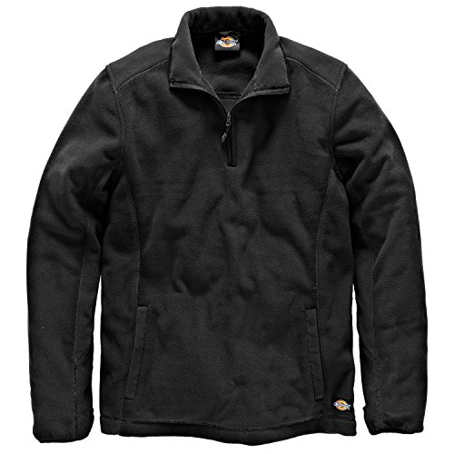 Dickies Fleece-Pullover »Two Tone Micro Fleece« Schwarz