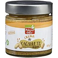 La Finestra Sul Cielo Crema de Cacahuetes Crunchy - 4 Paquetes de 200 gr - Total: 800 gr