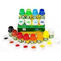 Lightwish Pintura para Dedos Lavable de 12 Colores para bebés y niños con Juego de Pintura para el Arte y Dedos