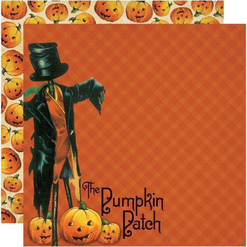 (Unbekannt Erinnerung Halloween 12von 12Zoll doppelseitige Scrapbook Papier, Pick Of The Patch)