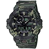 Casio G-Shock Analog-Digital Black Dial Men's Watch - GA-700CM-3ADR (G824)